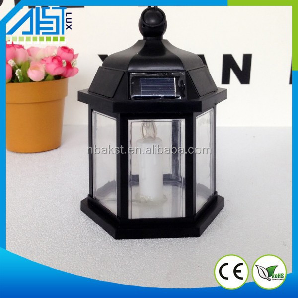 2015 Hot Sale Home Decoration Solar LED Candle Light