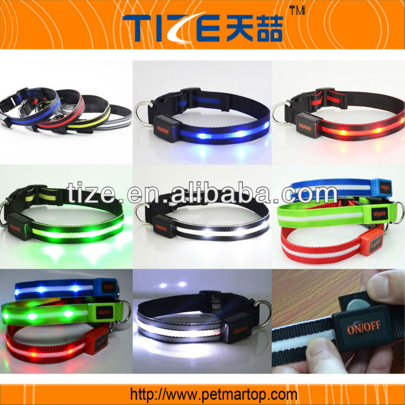 Hot selling Dogs Accessories TZ-PET6100 braided nylon dog collar