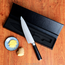 Spot goods !! 5cr15 stainless steel(425) high quality kitchen 8inch chef knife in gift box pack, private label available