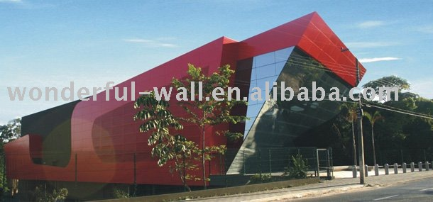 Fireproof aluminium composite panels pvdf price for exterial decoration