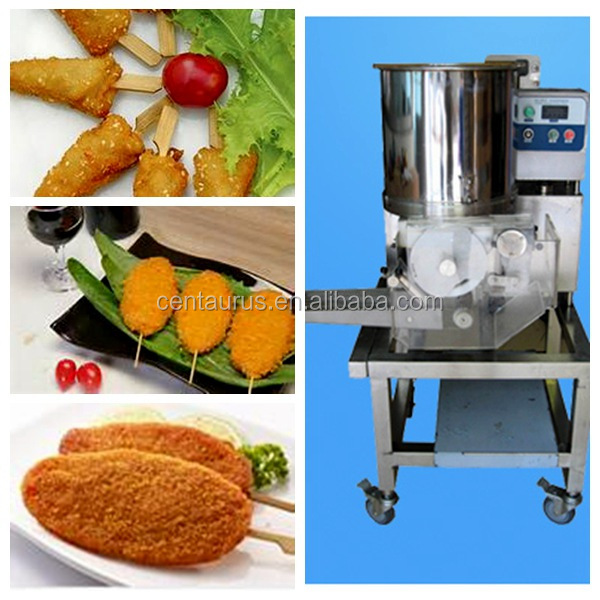 Cheapest hamburger shrimp beef patty forming machine with fast delivery
