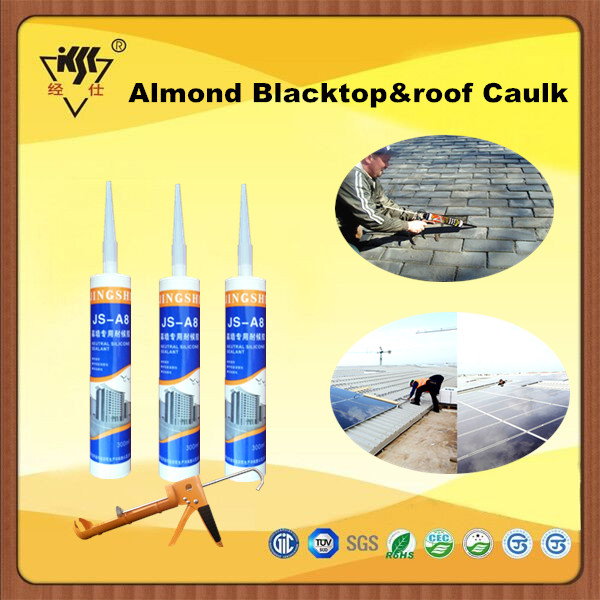 Almond Blacktop&roof Caulk