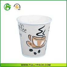 Wholesale 2017 new design coffee paper cup with logo printed