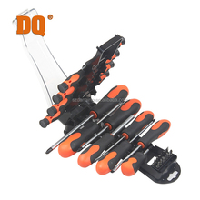 DQ 38pc anti-slip handle tool set blister packing precision screwdriver
