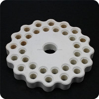 high temperature resistance insulating ceramic corundum mullite radiation plate
