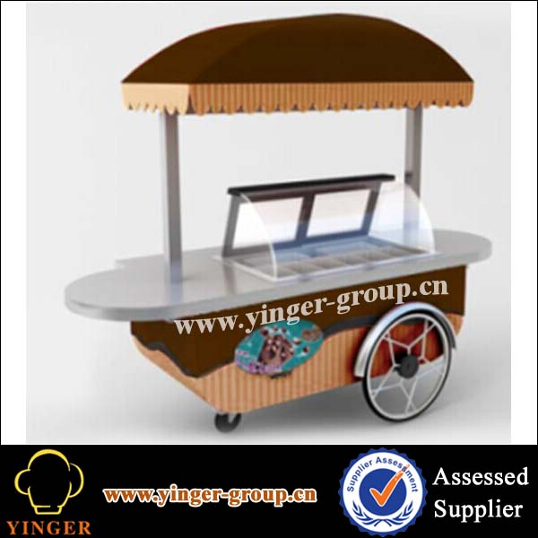 factory price mobile ice cream carts for sale
