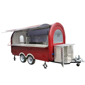 Towable Street Mobile Kitchen Outdoor Mobile Food Trailer
