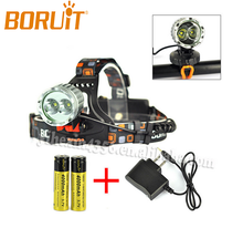 Hot Sale Newest Most Powerful High Lumen 3000 Lumen CREE XML T6 Emergency Cree Led Bike light Headlamp