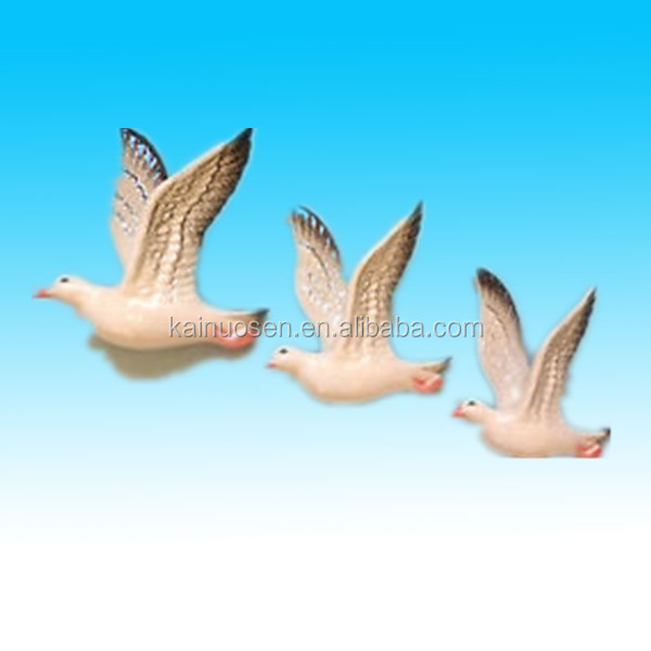 hot sale hand painted decorative ceramic seagulls
