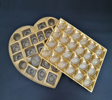 plastic capsule Packaging Boxes Packaging Tray for chocolate