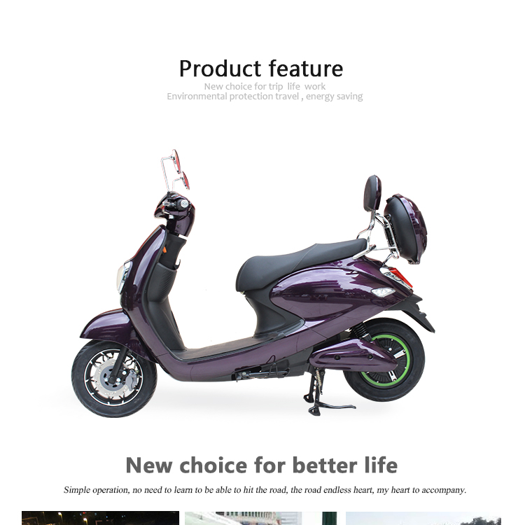 ctrico 800 w electric scooter citycoco vespa plegable