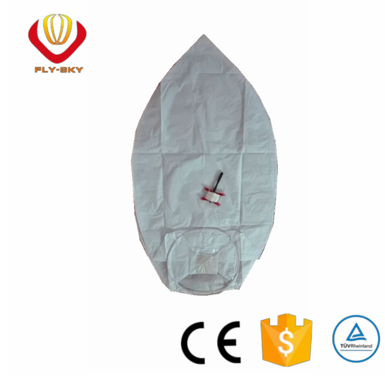 festival fire retardant biodegradable luminary sky lantern with kite line