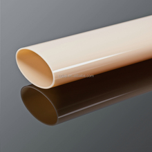 square acrylic pipe/white milky tube/PMMA tubing with germany raw material