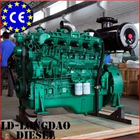 6B Series Water-Cooled Turbocharger Lister Type Diesel Engine For Sale