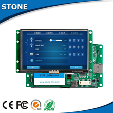 7 inch intelligent programmed TFT LCD for home automation