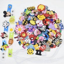Amazon Ebay Hot Selling PVC Shoe Charms Decoration fit for Croc Shoes/Wristbands Bracelet Promotional Gfits