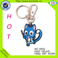 High Quality 2D/3D Soft PVC promotional keychains