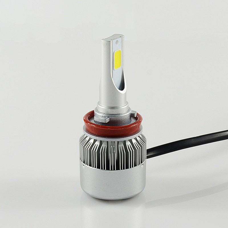 replace <strong>halogen</strong> bulb H8 H9 H11 auto car led <strong>headlight</strong> set
