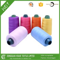 Colours Roll Sewing Thread 100% Spun Polyester Sewing Thread manufacturers industrial sewing thread