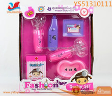 Best Gift For Girls Plastic Doctor Toys Sets Pink Model Toys Funny Medical Toys