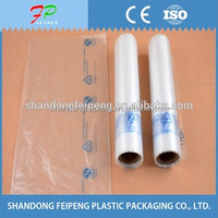 Roll plastic bag for super market, retail store, house hold