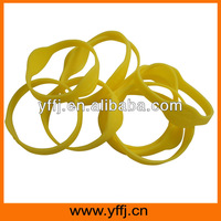food grade silicone rubber wrist bands