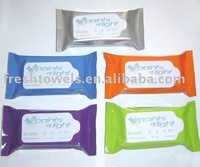 10pcs/bag high quality 100% cotton wet tissue