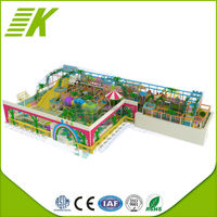 LLDPE plastic galvanized pipe children inflatable indoor playground