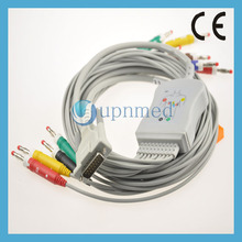 ECG Machine Dixtal 10 lead EKG Cable