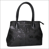 Cheap factory price high quality pu leather designer handbags for teens