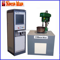 shenman 16kg standing touch screen balancing machine with drilling