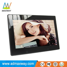 High Resolution 10 inch battery operated digital photo viewer