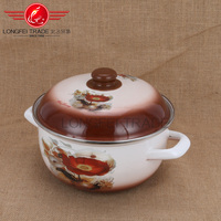 18-26cm Hot sale bright light Enamel Turkish Pot