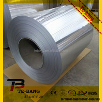 Aluminum foil for glass fiber fabric well pipe covers