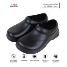 Anti Slip Safety Kitchen Shoes Catering Rubber Chef Shoes For Restaurant