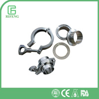 Heavy Duty Single Pin Stainless Tri Clamp Fittings