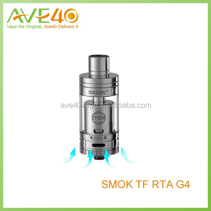 2016 wholesale SMOK NEWSEST Tank TF-RTA G2/G4 TFV4 RTA colored smoke cigarette