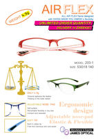 Glasses Optical Frame AIR-FLEX Swiss Polyamide