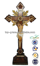Christian gifts home decorative cross Jesus crucifix stand