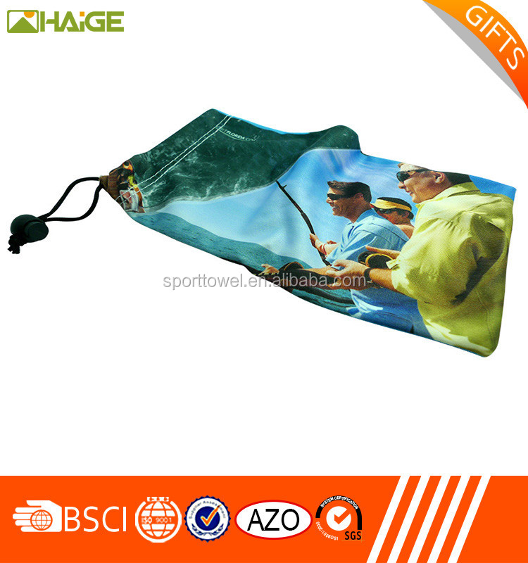 Hot selling Microfiber Cleaning Sunglasses Pouch,Custom Printed eyeglass Microfiber Pouch china suppliers