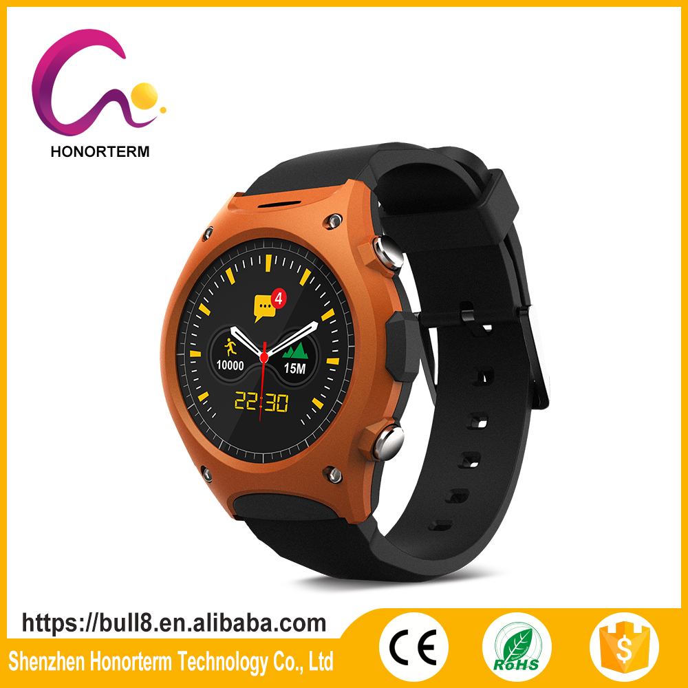 Outdoors Sports Q8 Smart watch with MTK2502c and Heart Rate Monitor