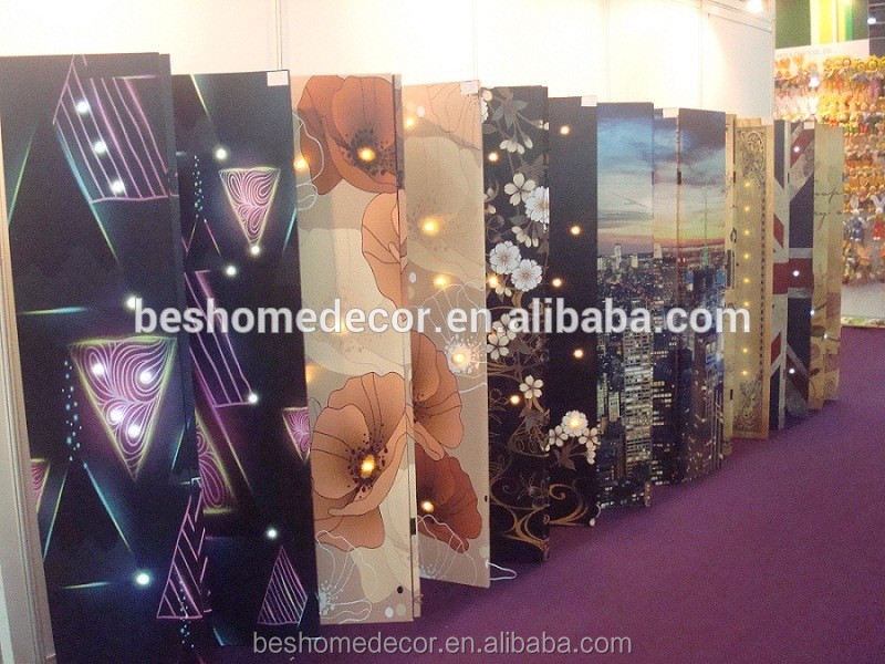 customize living room partition picture frame folding screen indoor room dividers