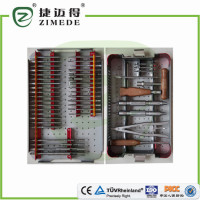 Instrument Set for Broken off screws names of orthopedic surgical instruments