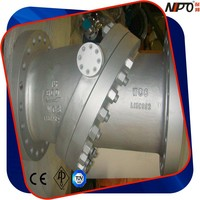 Cast Steel Flanged Type Tilting Disc Check Valve