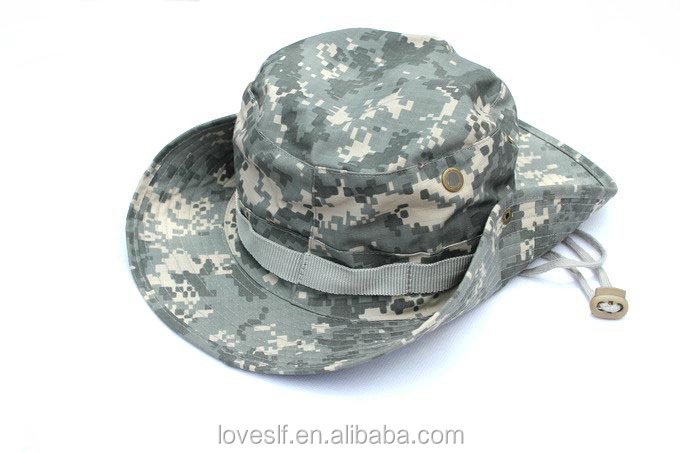 2016 Loveslf army military camouflage hats outdoor round hunting hat cap