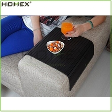 Bamboo and Wood Sofa Arm Tray Table/Chair Arm Tray/Homex_FSC/BSCI Factory