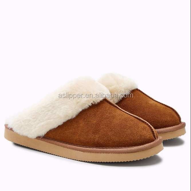 Aslipper high quality Men's Woman's Memory Foam winter slipper EVA SOLE