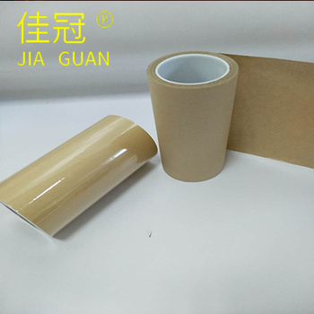Single Side Brown Silicone Paper Roll