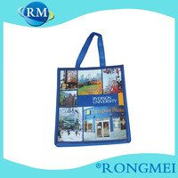 Hot selling Eco-friendly recycle examples of non woven fabric bags
