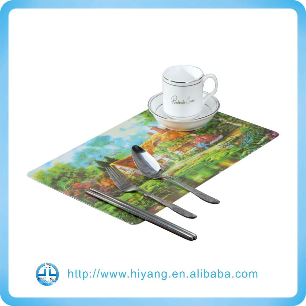 Hot Sale Cheapest PP Dining Table Mat , PP Plastic Placemat